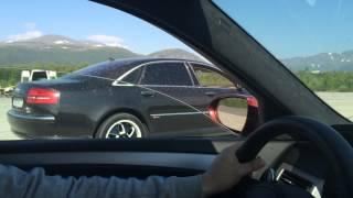 BMW M5 E60 vs Audi A8 W12 (чип-тюнинг 500 л.с.)