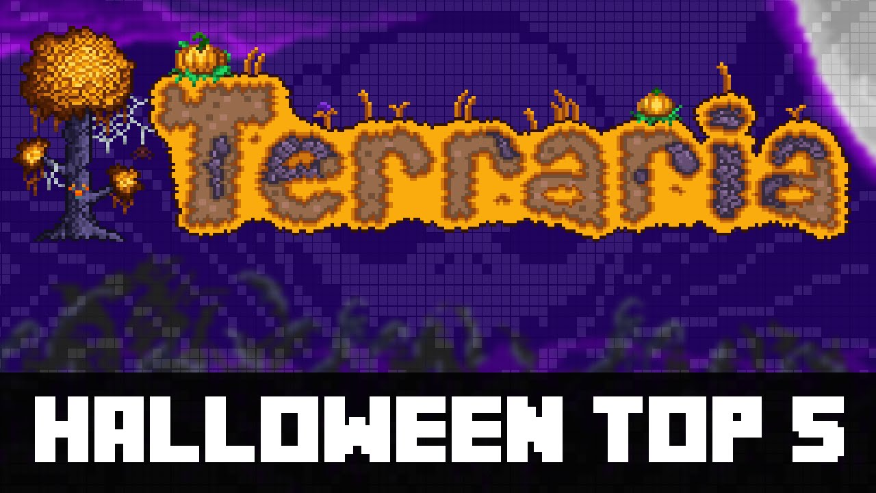 terraria 1.3 - top 5 halloween event items you must get! - youtube