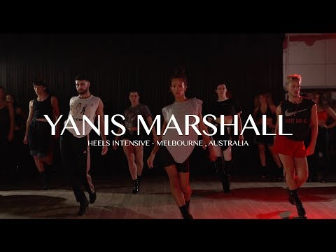 """YANIS MARSHALL HEELS INTENSIVE MELBOURNE AUSTRALIA 2020 """"DON&39;T FUCKING TELL ME WHAT TO DO"""" ROBYN"""