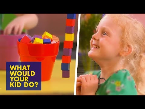 Building the TALLEST Tower | What Would Your Kid Do?