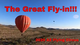 2020 Arizona Flying Circus: Show 2 - The Great Paramotor Fly-in