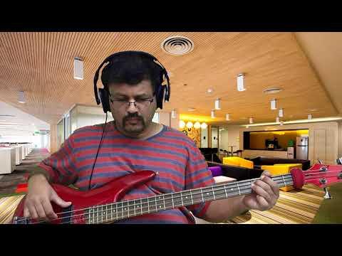 "Bass cover for ""Ilamai enum poongatru"" from Pagalil oru nilavu"