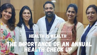 The importance of an annual health check up for Women over 30/Ranjini Haridas Vlogs