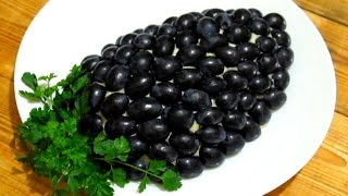 Праздничный САЛАТ ТИФФАНИ или Виноградная Гроздь очень вкусный Салат на Новый Год #Рецепты #Салатов