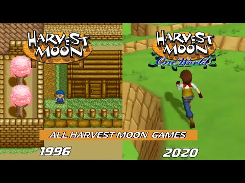 All Harvest Moon & Story of Seasons Games (1996 - 2020)