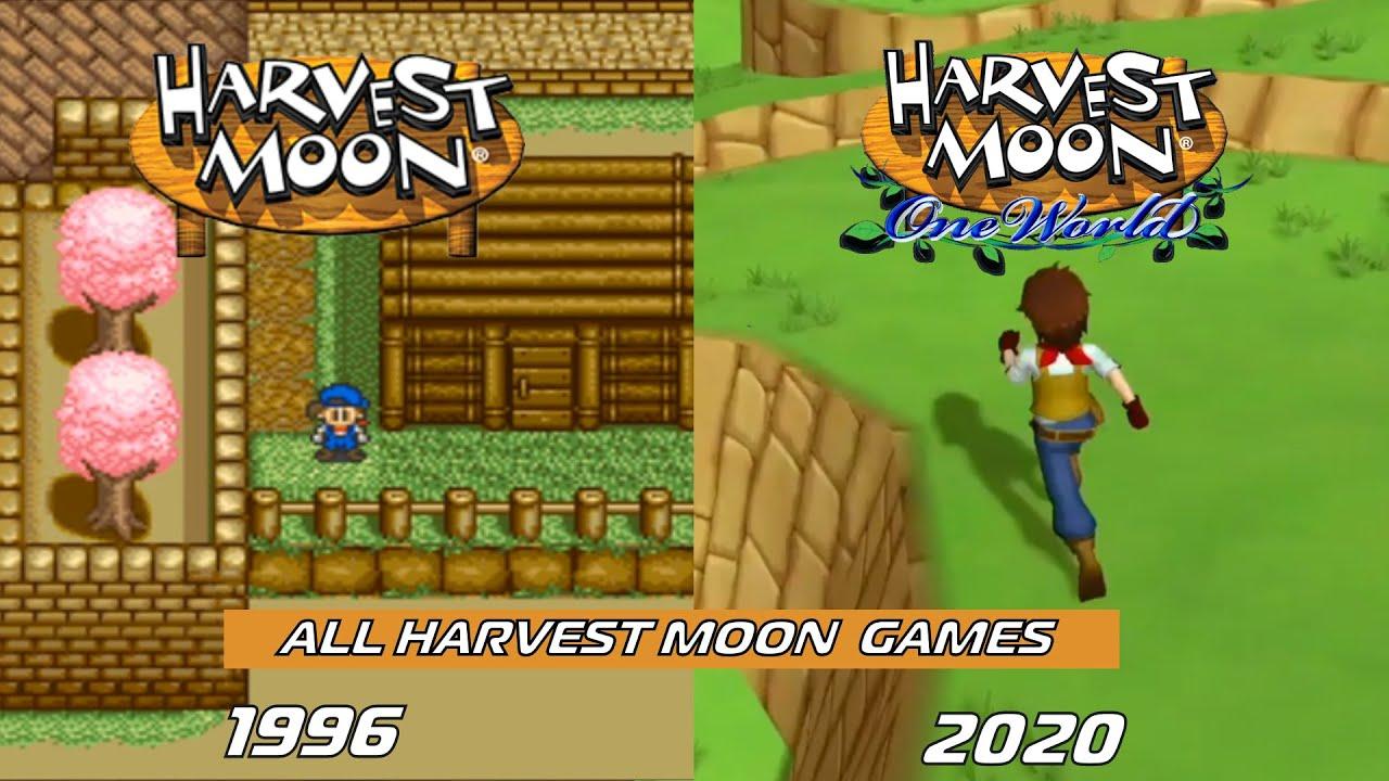 All Harvest Moon \u0026 Story of Seasons Games (1996 - 2020)