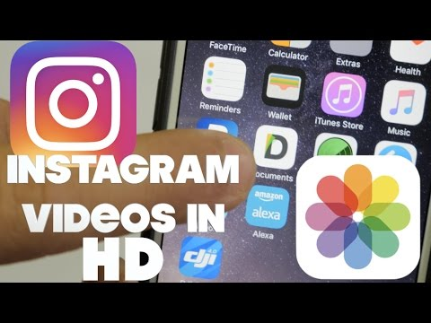 How to get videos into iphone camera roll upload to instagram in how to get videos into iphone camera roll upload to instagram in hd ccuart Image collections