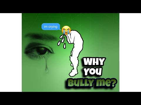 I MET THE WHY YOU BULLY ME DUDE!!! (Read Description)