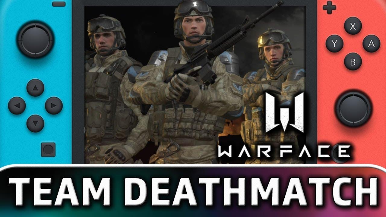 Warface | Team DeathMatch Online on Nintendo Switch