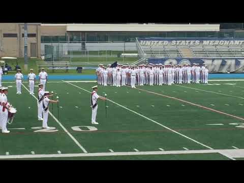 US Merchant Marine Academy Parade- Drill and Reporting