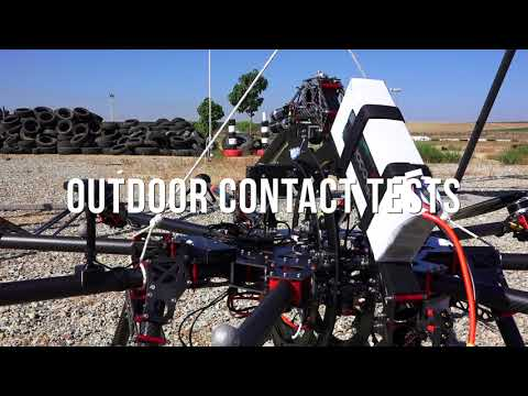 Aerox - Novel Aerial Manipulator for Industrial Contact Inspections in AEROARMS H2020 project