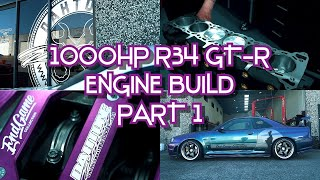 1000hp OEM crank RB26/30 engine build for the End Game Collection R34 GT-R - Part 1