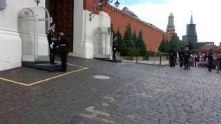 Случай с иностранцами на Красной площад...