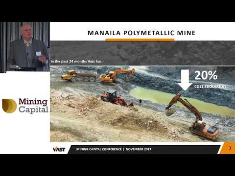 Vast Resources CEO Roy Pitchford presents at Mining Capital