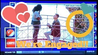 Storytime: WE MADE ESPN ( & are engaged) || Our proposal story