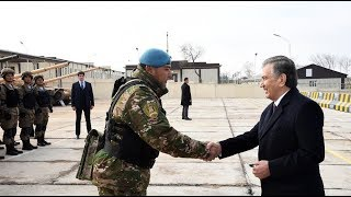 Президент Шавкат Мирзиёев наблюдал за специальными тактическими учениями подразделений ВС