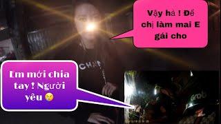 Chị gái dể thương làm mai em gái cho Linh khi nghe Linh mới chia tay người yêu !😅 : Linh xe ôm Vlog