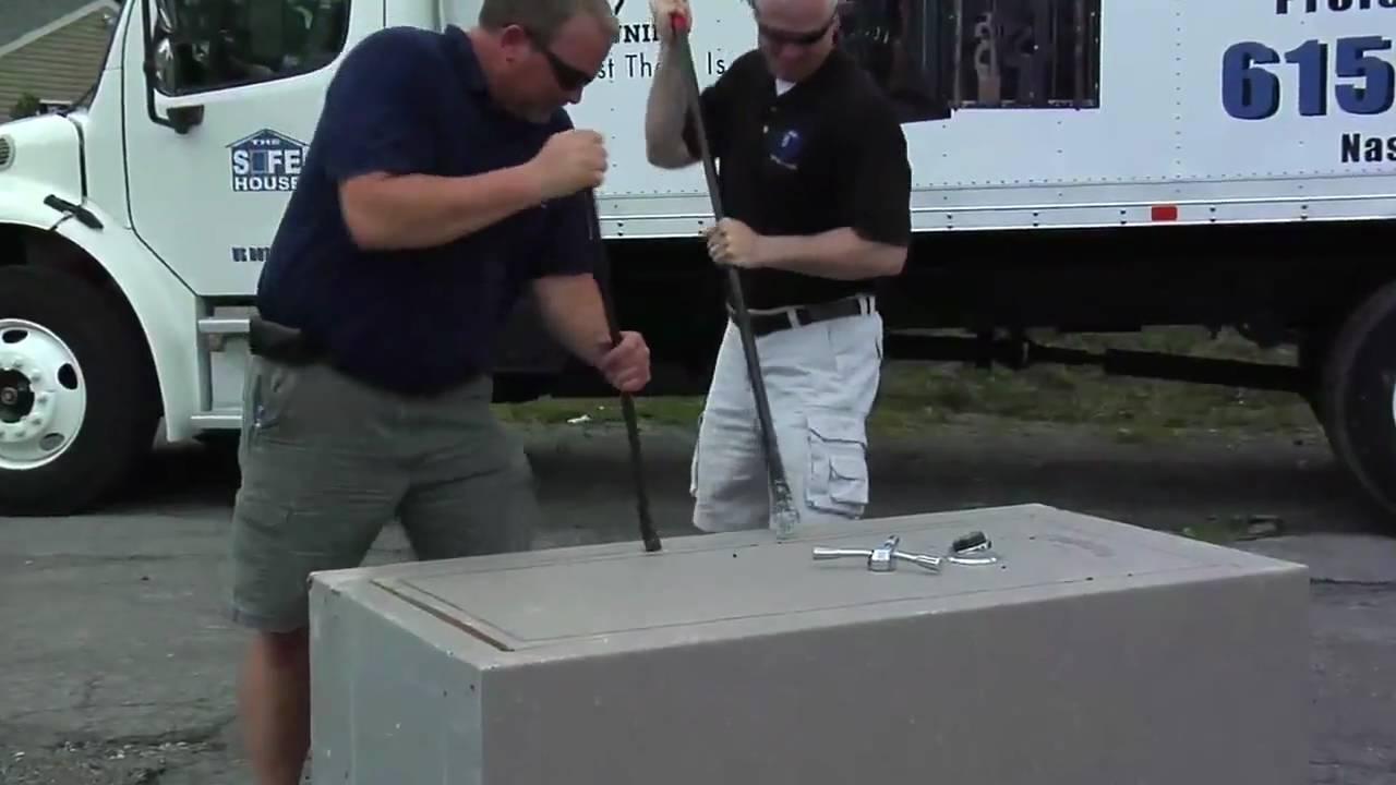 The Safe House Gun Safe Torture Test