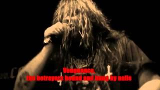 CANNIBAL CORPSE - Crucifier Avenged [Lyric Video/Lyrics on screen]
