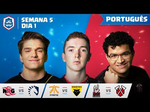 Clash Royale League: CRL West 2019   Semana 5 Dia 1! (Português)