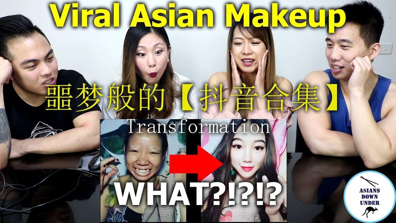 Best Viral Asian Makeup Transformations 2018