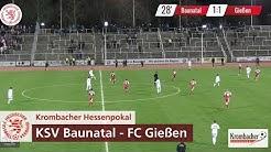 KSV Baunatal vs. FC Gießen | Krombacher Hessenpokal 2019 Halbfinale I