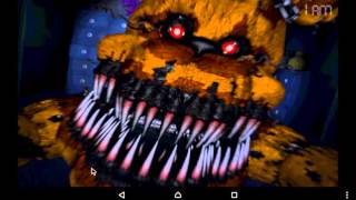 Обзор популярной игры FNaF4 5 ночей с Фреди 4 на Андроид.