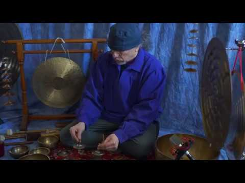 Chakra Meditation/Improvisation~Antique Tingshas & Gongs~30 min.~