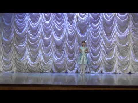 Анастасия Коченкова Выступление на краевом конкурсе