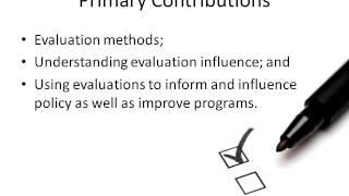 Evaluation Scholar Presentation - Gary Henry