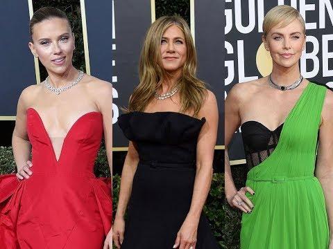 ✅  Golden Globes 2020 : Charlize Theron, Scarlett Johansson, Jennifer Aniston, les plus beaux looks