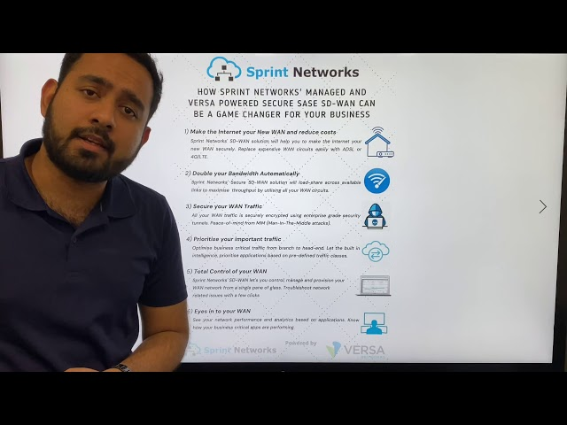 How Sprint Networks SD-WAN solution can be a game-changer for your business?