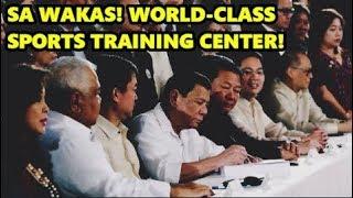 Philippine Sports Training Center Act, Pirmado Na! | Duterte