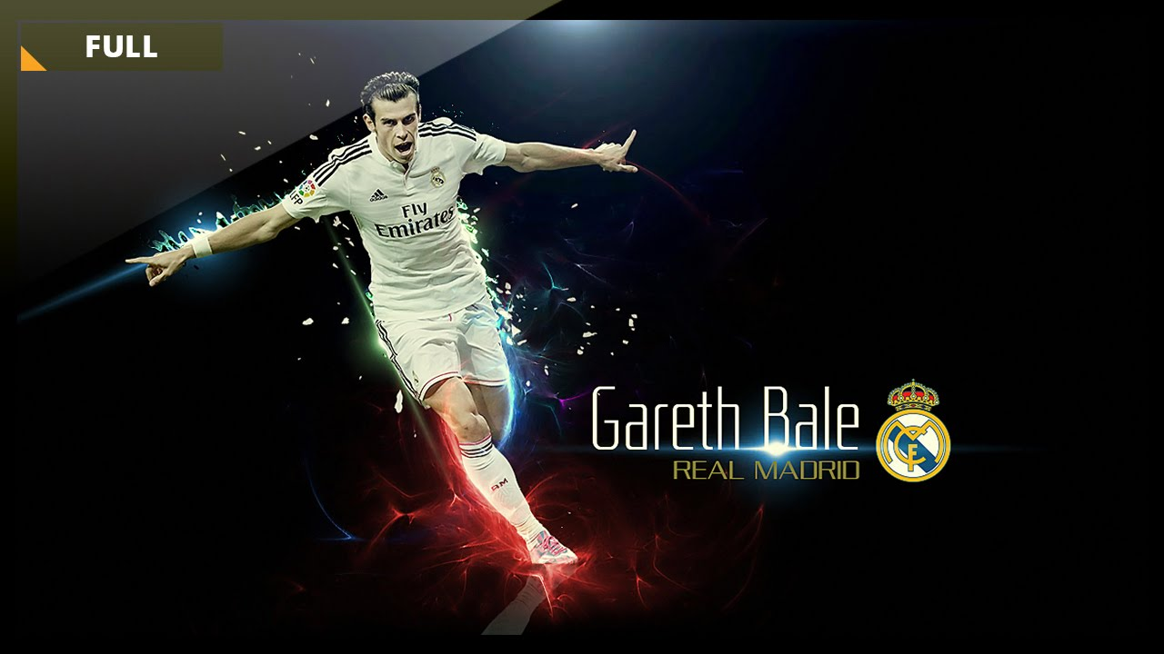 Photoshop Graphic Design How To Design A Football Wallpaper Gareth Bale