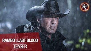 RAMBO : LAST BLOOD - Teaser VOST