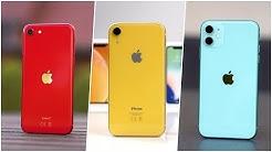 Apple iPhone SE (2020) vs iPhone XR vs iPhone 11 - Die wichtigsten Unterschiede (Deutsch) | SwagTab