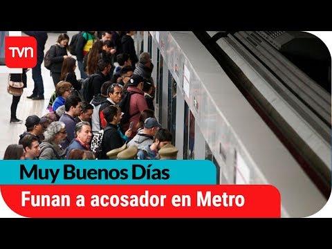 Funan a hombre por grabar a joven de 15 años bajo la falda en el metro   Muy buenos días