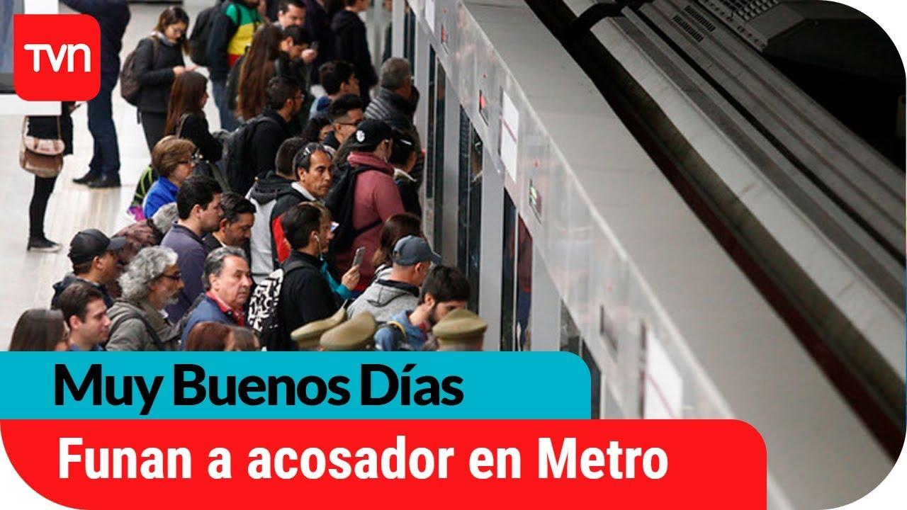6ab94bbc9 Funan a hombre por grabar a joven de 15 años bajo la falda en el metro |  Muy buenos días