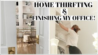 HOME VLOG! Finishing my office..