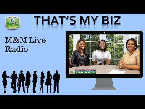 "Meesa Meah, M&M Live Radio, on ""That's My Biz"""