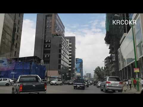 18.October 2020 Today Weather information Addis Ababa in Ethiopia street view ኢትዮጵያ에티오피아 아디스아바바 날씨