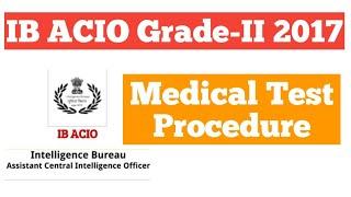 IB ACIO Grade-II 2017||Medical Procedure||In Hindi