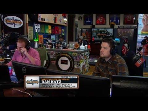 Dan Katz on The Dan Patrick Show (Full Interview) 04/19/2016