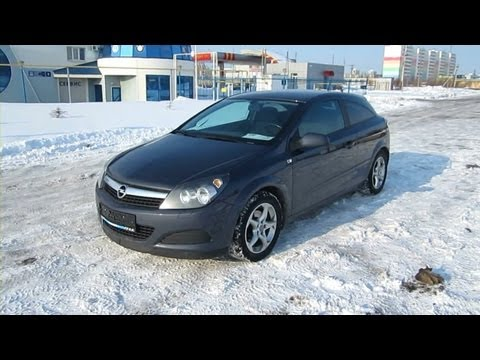 2008 Opel Astra GTC. Start Up, Engine, and...