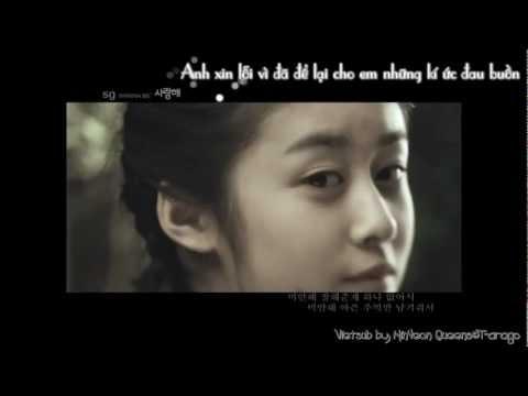 [MV][Vietsub] SG Wannabe - Cry Baby My Love I Love U (Starring Jiyeon)