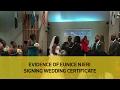 evidence of eunice njeri signing wedding certificate