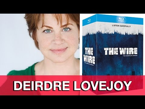 Deirdre Lovejoy Interview - The Wire streaming vf