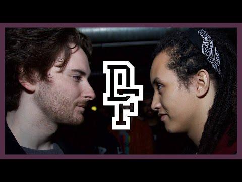 SHUFFLE-T VS HERETIC   Don't Flop Rap Battle