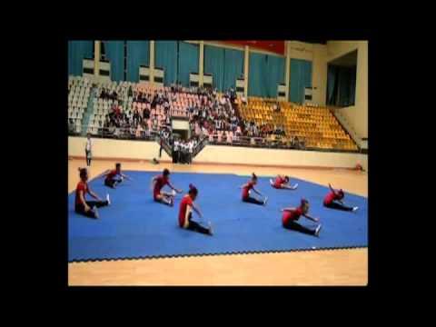 Aerobic Trường THPT C Hải Hậu 20-03-2012