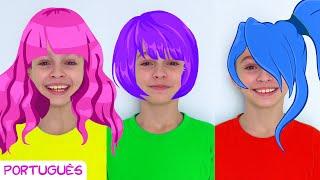 Dia Divertido Com Os Cabelos – Canções Infantis por Sunny Kids Songs